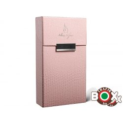 Adami Stefano Cigarettatartó doboz 100-as ML Lizard Pink
