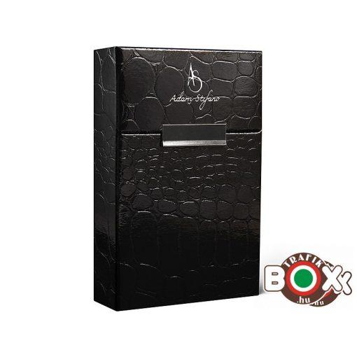 Adami Stefano Cigarettatartó doboz 80 M Crocco Black