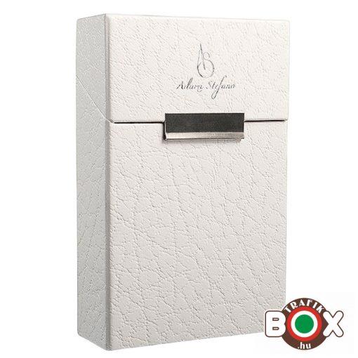 Adami Stefano Cigarettatartó doboz 80 M Leather white