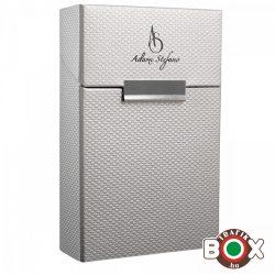 Adami Stefano Cigarettatartó doboz 80 M Metal-X silver