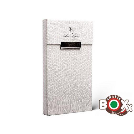 Adami Stefano Cigarettatartó doboz Slim Lizard White
