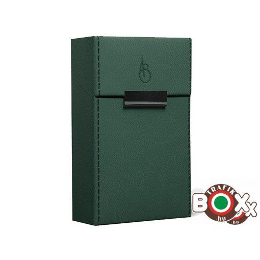 Adami Stefano Cigarettatartó doboz M 80-as Elegance British Green stitched