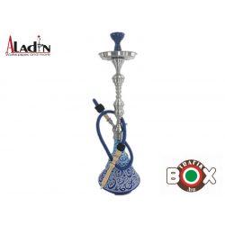 Vizipipa Aladin vízipipa blue-turquoise 77cm W503