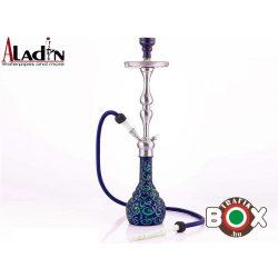 Vizipipa Aladin vízipipa blue-green 77 cm 1 csöves WP513bg