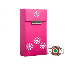 Adami Stefano Cigarettatartó doboz 100 ML Electric Pink with motif