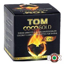 Vizipipaszén Tom Cococha Prémium Gold 1 kg