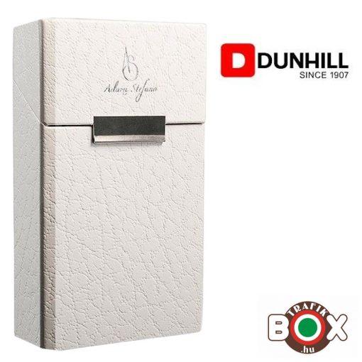 Adami Stefano Cigarettatartó doboz OL DUNHILL Leather White UT