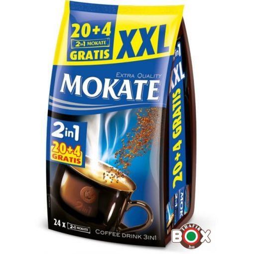 MOKATE 2IN1 XXL 20*14G +4 GRATIS