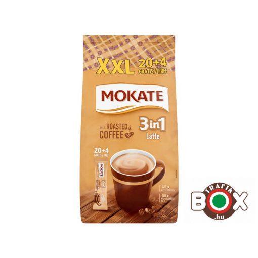 MOKATE 3IN1 XXL 20*15G LATTE +4 GRATIS