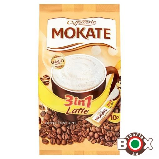 MOKATE 3IN1 10*15G LATTE
