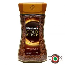 NESCAFÉ GOLD 100G ÜVEGES