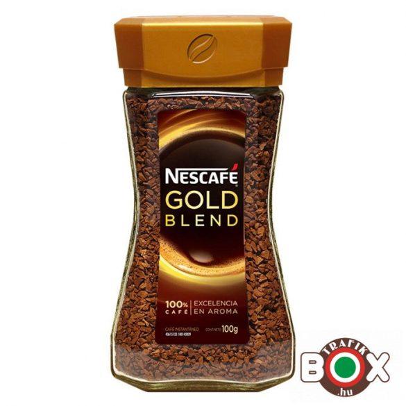 NESCAFÉ GOLD 100G ÜVEGES