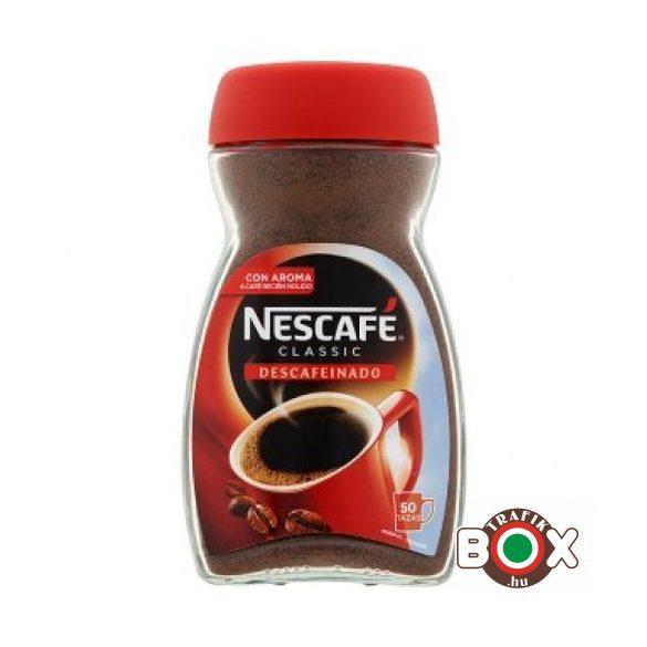 NESCAFÉ CLASSIC 100G KOFFEINMENTES