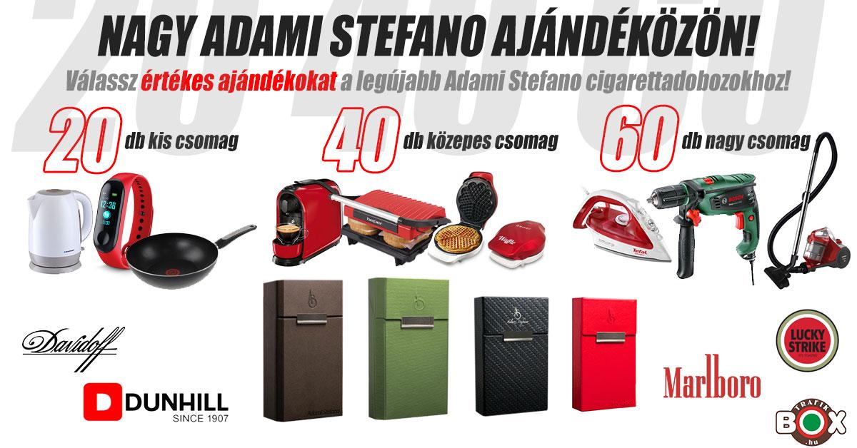 Adami Stefano ajándéközön