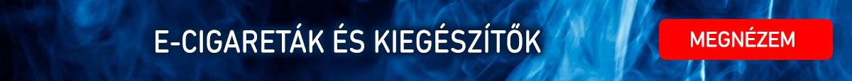 e-cigaretták és kiegészítők