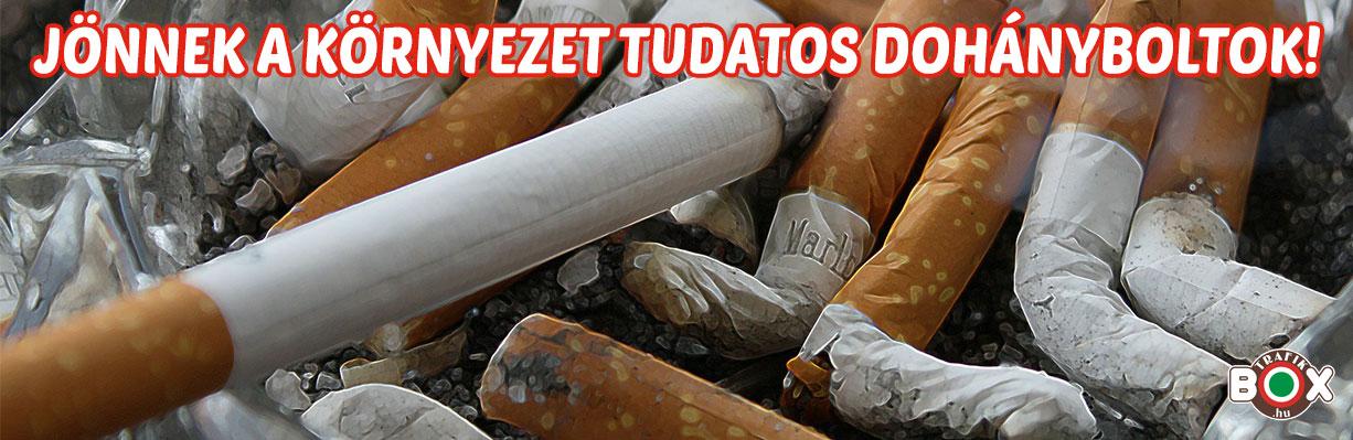környezettudatos dohányboltok