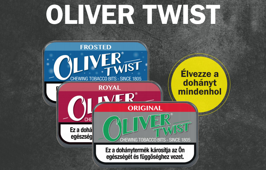 Twist Olivér rágódohány